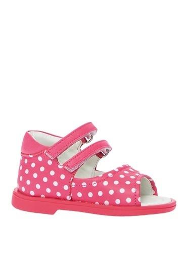 Mammaramma Deri Çift Tokalı Ayakkabı Kırmızı